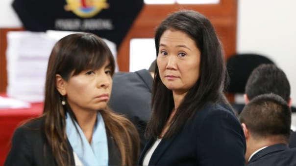 La abogada indicó que Fujimori ha recibido la visita de sus hijas en el Penal Anexo Mujeres de Chorrillos.