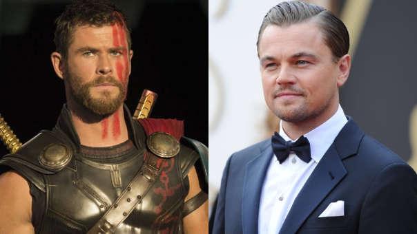Chris Hemsworth y Leonardo DiCaprio