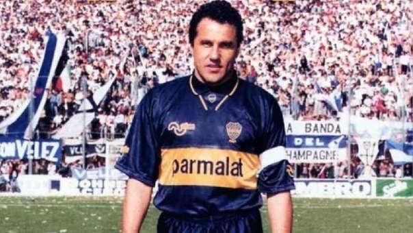 Alberto Márcico jugó en Boca Juniors desde 1992 hasta 1995.