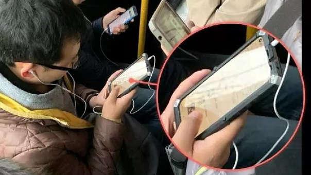 Un nuevo Huawei con pantalla completa ha sido visto en público