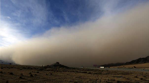 China tormenta de arena