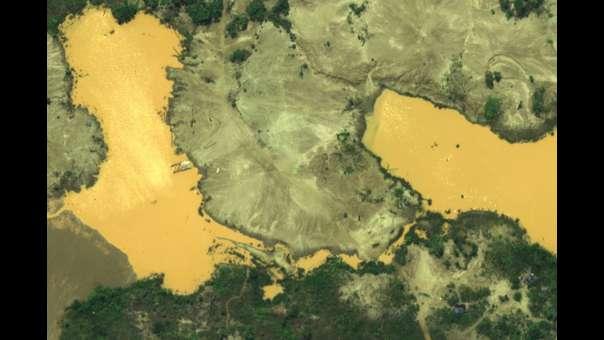 Madre de Dios: imágenes exclusivas muestran minería ilegal en la Reserva Nacional Tambopata