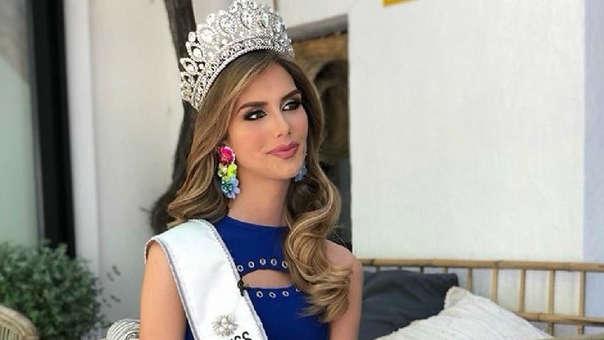 Ángela Ponce representa a España en el Miss Universo.