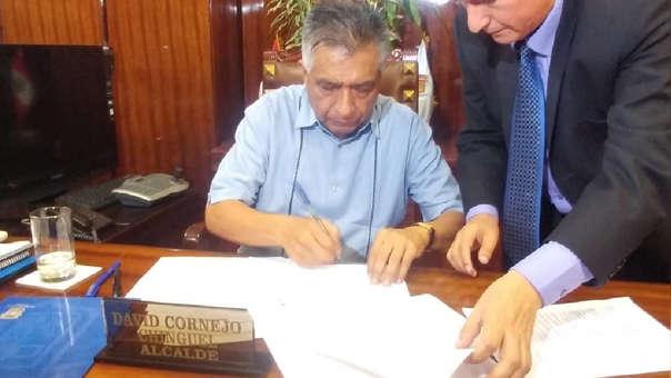 David Cornejo asegura que no otorgará permiso para feria Navideña