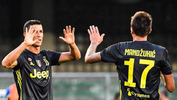 Cristiano Ronaldo y Mario Mandzukic han formado una gran dupla goleadora para la Juventus.