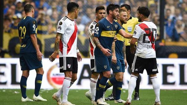 Es la primera vez que Boca Juniors y River Plate se enfrentan en la final de la Copa Libertadores.