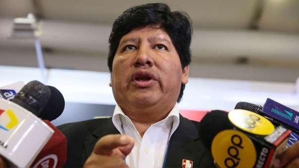 Presidente de la Federación Peruana de Fútbol (FPF).