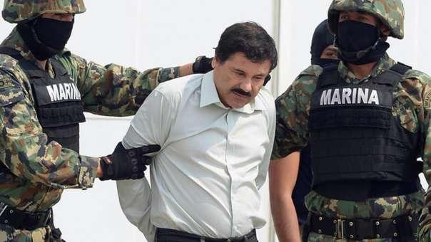 El 'Chapo' Guzmán fue capturado en México y extraditado a EE.UU., donde se enfrenta un juicio.