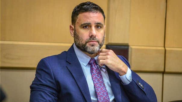 El hispano-estadounidense Pablo Ibar asiste a la fase oral del cuarto juicio al que es sometido.