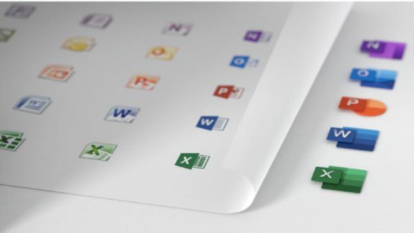 Así lucen los nuevos íconos de Office