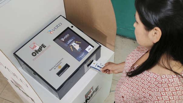 El próximo 9 de diciembre 39 distritos del país tendrán la modalidad de voto electrónico para el referéndum.