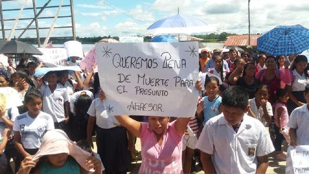 Protesta por muerte de menor