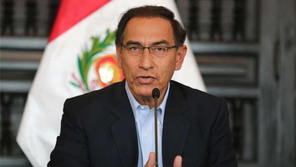 Martín Vizcarra se presenta en el CADE este viernes.