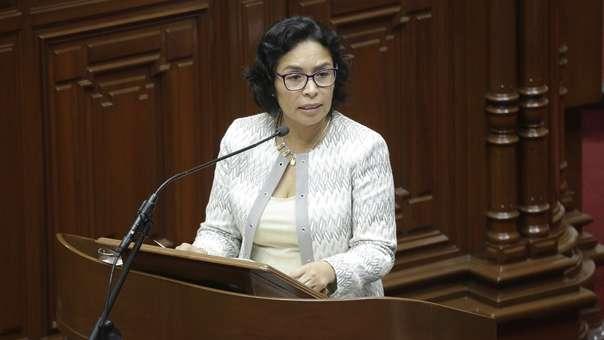 Patricia Balbuena renunció al Ministerio de Cultura.