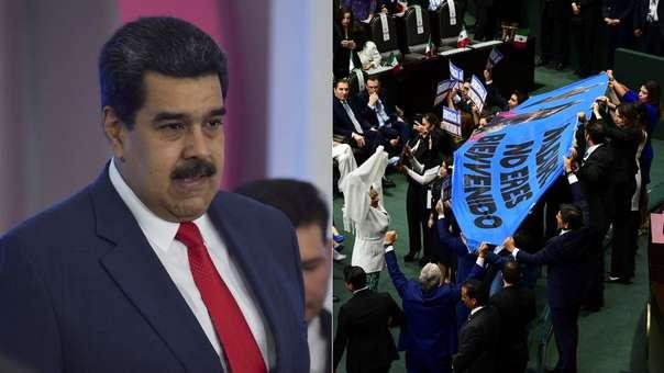 Pese a no estar en el Hemiciclo, la sola mención de Nicolás Maduro causó controversia.