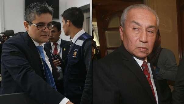 El fiscal Pérez interrogó al fiscal de la Nación.