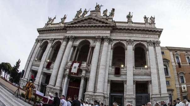 La catedral de San Juan de Letrán es la más antigua del mundo.