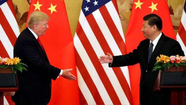 Los presidentes de Estados Unidos, Donald Trump, y de China, Xi Jimping llegan a un acuerdo.