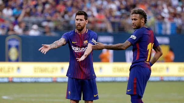 Lionel Messi y Neymar ganaron juntos una Champions League en el Barcelona.