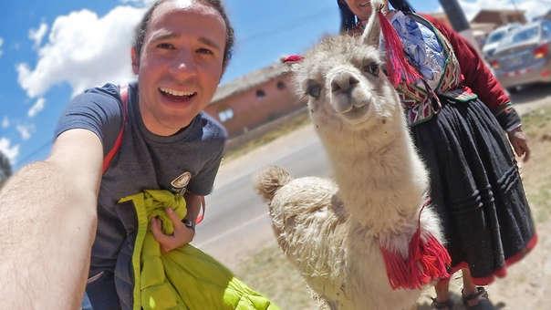 Luisito Comunica ha grabado vídeos en Cusco