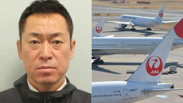 El piloto Katsutoshi Jitsukawa de la aerolínea Japan Airlines (JAL)
