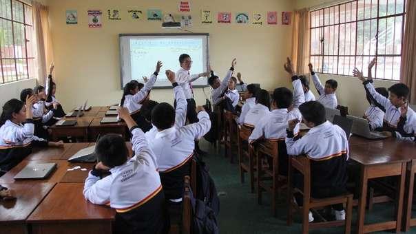 Colegios realizan procesos de admisión.