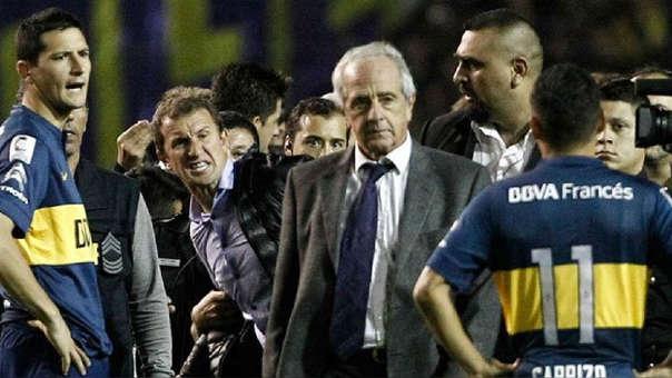 Rodolfo D'Onofrio es presidente de River Plate desde 2013.