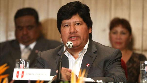 Policía Nacional captura a presidente de la FPF Edwin Oviedo