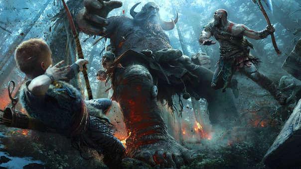 La historia de Kratos y Atreus ganó su primer premio de la noche.