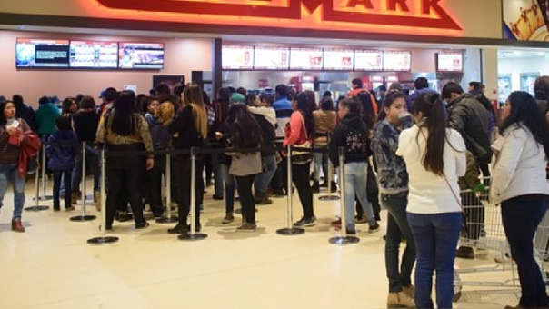 En Perú existen 555 salas de cine y un aproximado de un millón de butacas, según la Toulouse Lautrec.