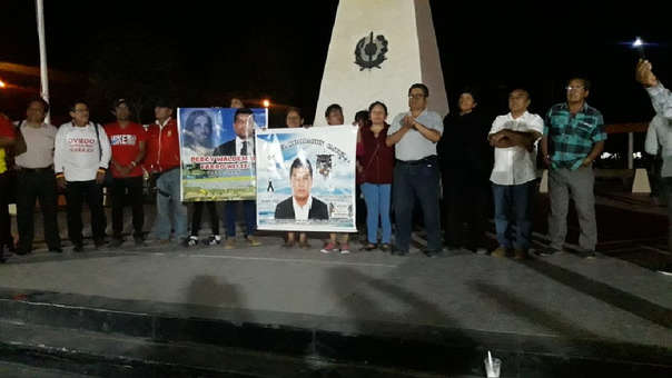Trabajadores y familiares de los fallecidos salieron a calles de Tumán