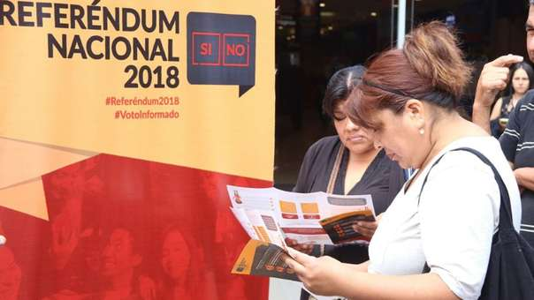 Referéndum 2018 | Este domingo se realiza a consulta ciudadana impulsada por el presidente Martín Vizcarra.