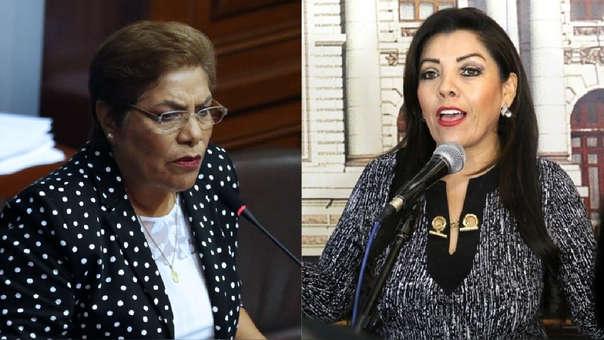 Luz Salgado y Alejandra Aramayo