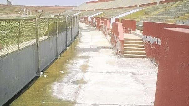 Estadio Elías Aguirre de Chiclayo.