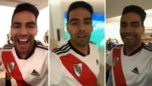 Radamel Falcao jugó en River Plate durante cinco temporadas y después emigró a Europa.