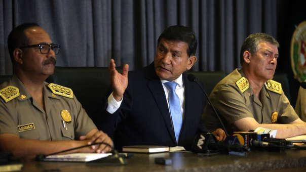 El ministro del Interior, Carlos Morán, ha negado que el auto que se encontraba en los exteriores de la residencia de García haya sido de espionaje.