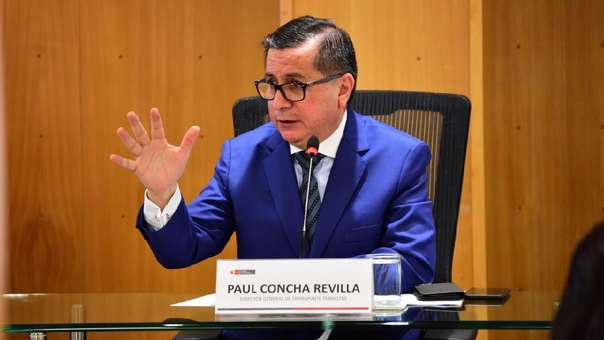 Paul Concha asumió como jefe de la Dirección General de Transporte Terrestre.