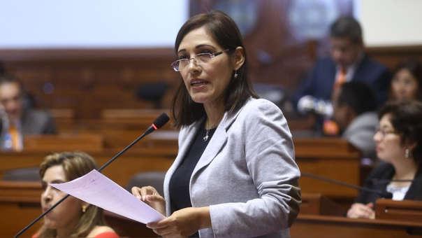 La congresista señaló que el siguiente paso es trabajar las reformas aprobadas en las respectivas comisiones.