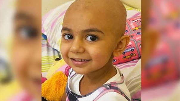 La menor necesita de donaciones de sangre para poder sobrevivir al tratamiento de quimioterapia y