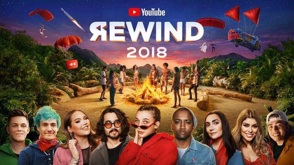 YouTube presentó su Rewind 2018 y ha recibido una critica terrible en estos días