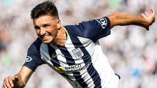 Mauricio Affonso ha marcado 10 goles con Alianza Lima en este año.