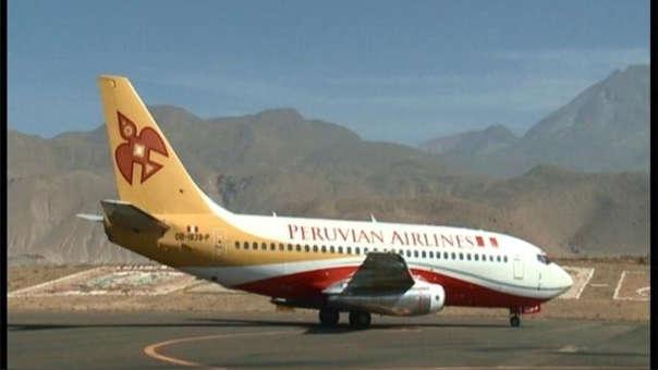 """Según la prensa boliviana, el accidente ocurrido el mes pasado se debe a que el avión sufrió un """"derrape"""" en la pista de aterrizaje, lo que causó que una de sus llantas traseras se reventara."""