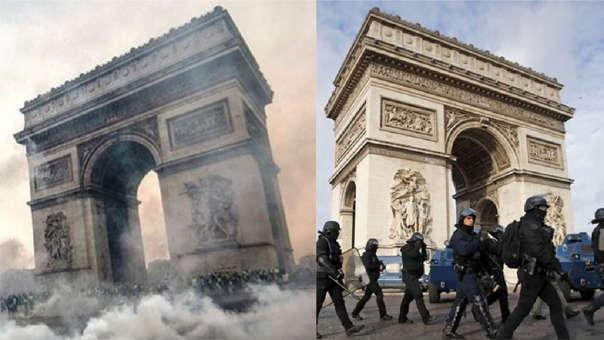 Paris Arco Del Triunfo Reabre Sus Puertas Tras Violentas Protestas