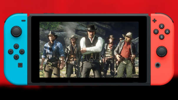 nintendo Switch - Red Dead Redemption 2