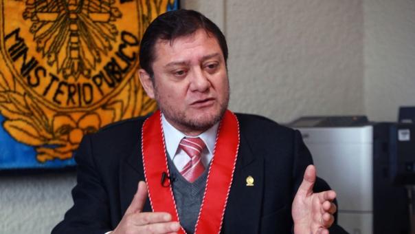 El fiscal Jorge Chávez Cotrina, coordinador de las Fiscalías contra el crimen organizado, descartó presión sicológica contra Edwin Oviedo.
