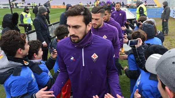 Davide Astori era el capitán de la Fiorentina, una de los clubes más tradicionales de Italia.