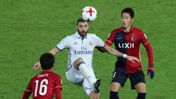 Real Madrid vs. Kashima EN VIVO ONLINE Mundial de Clubes.