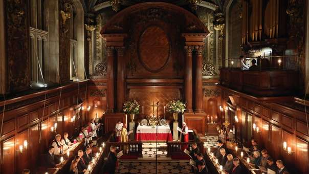 La Iglesia de Inglaterra se fundó en 1534 tras separarse de la Iglesia Católica.