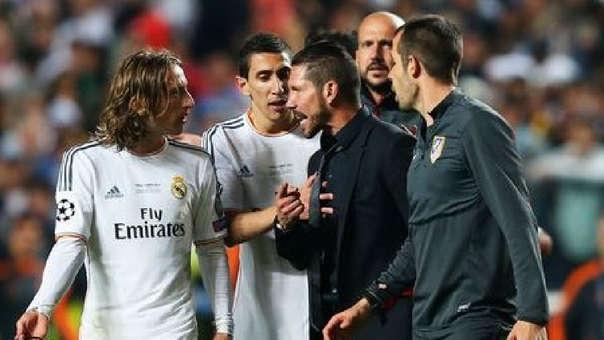 Real Madrid le ganó dos finales de Champions League al Atlético de Madrid.