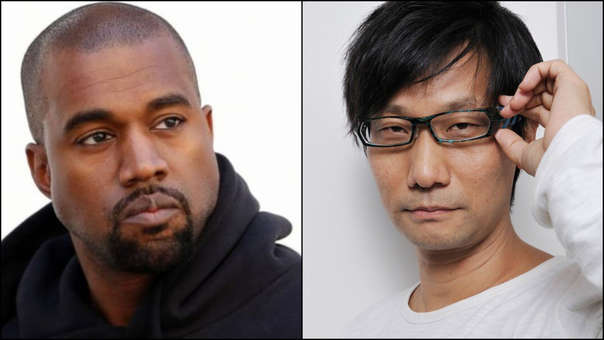 Kanye West y Hideo Kojima